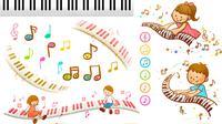 Ilustrasi lagu, musik. (Gambar oleh Please Don't sell My Artwork AS IS dari Pixabay)