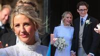 Pernikahan Ellie Goulding (Sumber: Kapanlagi)
