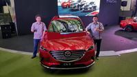 Mazda CX-9 mengalami penambahan fitur terbaru di acara Mazda Power Drive 2018 yang berlangsung di Epiwalk, Epicentrum, Kuningan, Jakarta, Sabtu (20/10/2018).