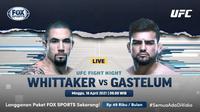Streaming UFC Vegas 24 di FOX Sports Eksklusif Melalui Vidio. (Sumber : dok. vidio.com)