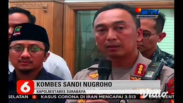 "Kepolisian Resor Kota Besar (Polrestabes) Surabaya memeriksa Ustad Yusuf Mansur dalam pengembangan penyelidikan perkara penipuan perumahan berkedok ""syariah"" yang merugikan konsumen sedikitnya Rp. 5 miliar."