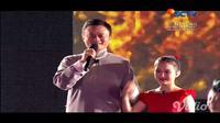 Pendiri Alibaba Group Jack Ma di penutupan Asian Games 2018