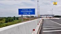 Gerbang Tol Palembang (Foto:Dok Kementerian PUPR)
