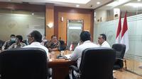 Himsataki mengadakan audiensi kepada Kepala BP2MI Benny Ramadhani pada Senin, (28/9/2020). (Istimewa)