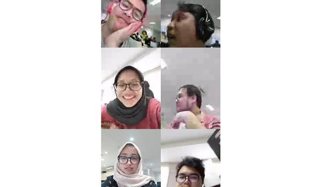 Video call pada Instagram (Foto: Ist)
