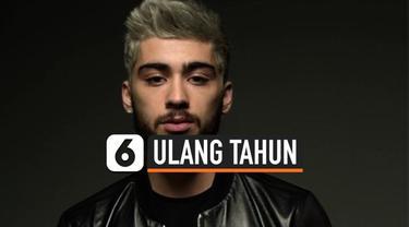 Mantan personil One Direction, Zayn Malik, hari ini berulang tahun yang ke-28. Tagar #Baba jadi trending topic Twitter, ramai ucapan dari para penggemar.