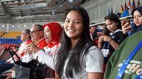 Windy Cantika Aisyah, lifter Indonesia di SEA Games 2019. (Bola.com/Istimewa)