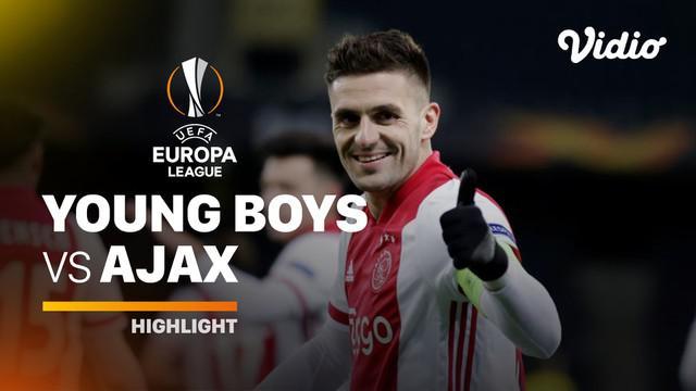 Berita video highlights laga leg kedua babak 16 besar Liga Europa 2020/2021 antara Young Boys melawan Ajax yang berakhir dengan skor 0-2, Jumat (19/3/2021) dinihari WIB.