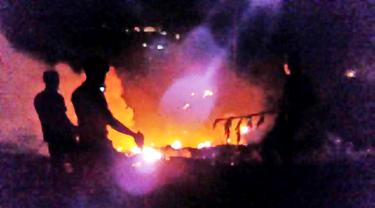 Ilustrasi kebakaran. (Foto: Liputan6.com/Muhamad Ridlo)