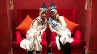 Laudya Cynthia Bella dan Erra Fazira [foto: instagram/laudyacynthiabella]