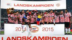 PSV Eindhoven memastikan diri meraih gelar juara Eredivisie Belanda usai mengalahkan Heerenveen dengan skor 4-1, di laga pekan ke-31, Minggu (19/4/2015) dinihari WIB. (psv.nl)