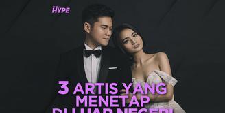Mengikuti jejak sang suami, 3 artis Indonesia ini memilih menetap di luar negeri. Yuk, kita cek video selengkapnya di atas!