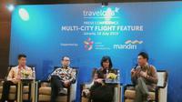 Talkshow Peluncuran Fitur Multi-Kota Traveloka (dok.Liputan6.com/Devita Nur Azizah)