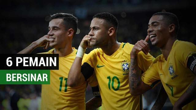 Neymar Jr mengungkapkan enam pemain yang nantinya akan mencuri perhatian di Piala Dunia 2018.