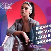 Sulit tulis lagu dalam bahasa Indonesia, Brianna Simorangkir mau menerima tantangan