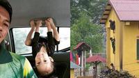 Potret 6 Bocah Kebanyakan Tingkah Ini Bikin Geleng Kepala (sumber: Instagram.com/ngakakkocak dan Instagram.com/meme.comic.indonesia)