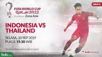 Kualifikasi Piala Dunia 2022 - Indonesia Vs Thailand (Bola.com/Adreanus Titus)