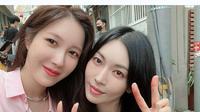 Lee Ji Ah dan Kim So Yeon (Foto Instagram/@e.jiah)