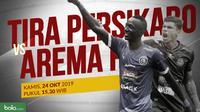 Shopee Liga 1 2019: Tira Persikabo vs Arema FC. (Bola.com/Dody Iryawan)