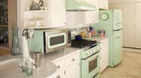 Butuh ide segar untuk merenovasi dapur Anda? Coba pilih tema retro!