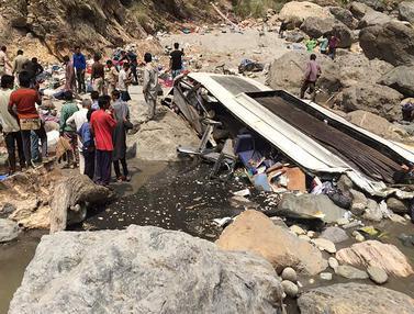 Kecelakaan Bus di India