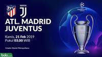 Liga Champions: Atletico Madrid Vs Juventus (Bola.com/Adreanus Titus)