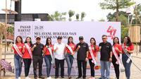Usung seni dan budaya, Pasar Rakyat HUT Korpri Ke-47 resmi dirilis. (foto: dok. Kemenpar)