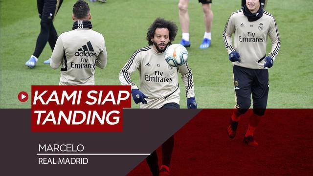 Berita Video Marcelo Jelaskan Kondisi Terkini Real Madrid Jelang Kembalinya La Liga