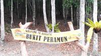 Bukit Peramun bisa menjadi salah satu pilihan di wisata di Belitung.