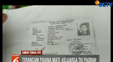 Zainul Wathoni dituding terlibat pembunuhan seorang warga Malaysia dan diancam dengan pidana mati.