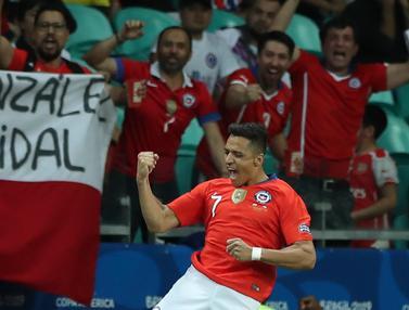 Tekuk Ekuador, Chile Melaju ke Perempat Final Copa America 2019
