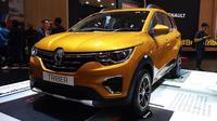 Renault Triber menggebrak panggung GIIAS 2019 tanpa harga. (Dian / Liputan6.com)