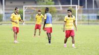 Andik Vermansah saat berlatih bersama Selangor FA di Selangor, Malaysia (27/1/2016). (Bola.com/Nicklas Hanoatubun)