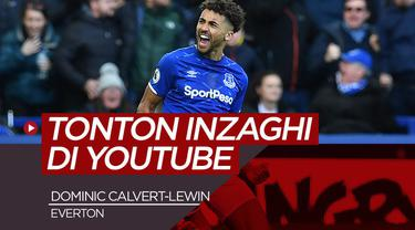 Berita Video Dominic Calvert-Lewin diminta Carlo Ancelotti untuk pelajari teknik Filippo Inzaghi di Youtube