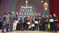 Hadiri Anugerah Syiar Ramadhan 2018 Apresiasi Kaum Muda, Menpora: Jadilah contoh kaum muda yang baik di tengah masyarakat.
