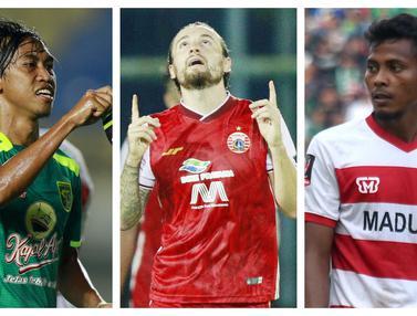 FOTO: 5 Gelandang Jangkar Tangguh yang akan Beradu Gengsi di Liga 1 2021, Marc Klok Telah Teruji