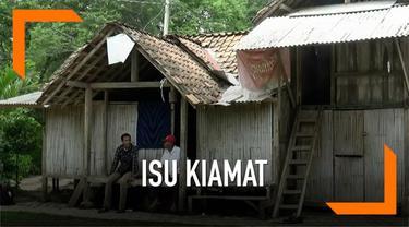 Puluhan warga Ponorogo pergi meninggalkan rumahnya menuju Malang karena adanya isu kiamat di desa mereka.