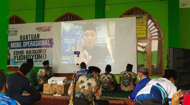 Ibas menggelar buka puasa bersama secara online di Pacitan dan Ngawi. (Istimewa)