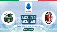 Serie A: Sassuolo vs AC Milan (Bola.com/Dody Iryawan)