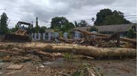Banjir bandang di Sentani.(Www.sulawesita.com)