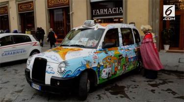 Seorang pengemudi taksi menawarkan tumpangan gratis untuk para penderita kanker.