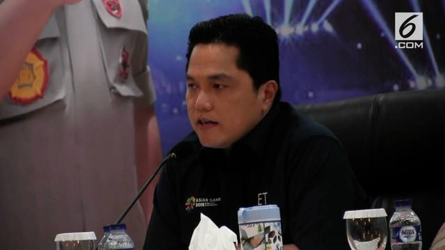 Ketua INASGOC Erick Thohir menyayangkan tuduhan curang yang dilayangkan tim Malaysia atas juri pertandingan pencak silat.