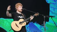 Ed Sheeran gelar konser Divide World Tour 2019 di Stadion Utama Gelora Bung Karno Jakarta, Jumat (3/5/2019) malam