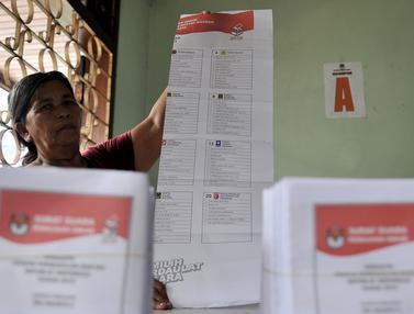 1.551 Surat Suara di KPU Jakarta Pusat Rusak
