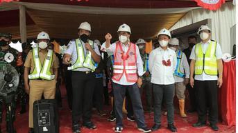 Biayanya Dua Kali dari Jawa, Bahlil Lahadalia Minta Proyek Bandara Siboru Kelar 2022