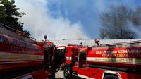 RSKD Dadi Makassar kebakaran (Liputan6.com/Fauzan)