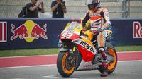 Marc Marquez Cetak Hattrick di GP Austin_3 (bola.com)