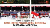 Upacara tahun ini juga akan ditampilkan acara seremoni kesiapan atlet-atlet Indonesia menghadapi Asian Games 2018.
