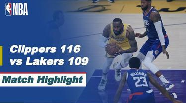 Berita video, LA Lakers kalah dari LA Clippers di laga pembuka NBA 2020/2021