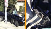 Kecelakaan Mazda Miata (Fullerton Police)
